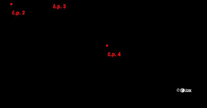 Předboř 4, Luka nad Jihlavou na parcele st. 8 v KÚ Předboř nad Jihlavou, Katastrální mapa