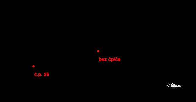 Stránka 2081831 na parcele st. 1/2 v KÚ Stránka u Mšena, Katastrální mapa