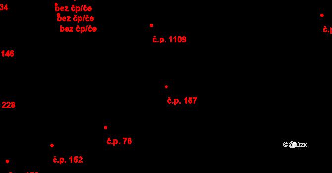 Bubeneč 157, Praha na parcele st. 439 v KÚ Bubeneč, Katastrální mapa