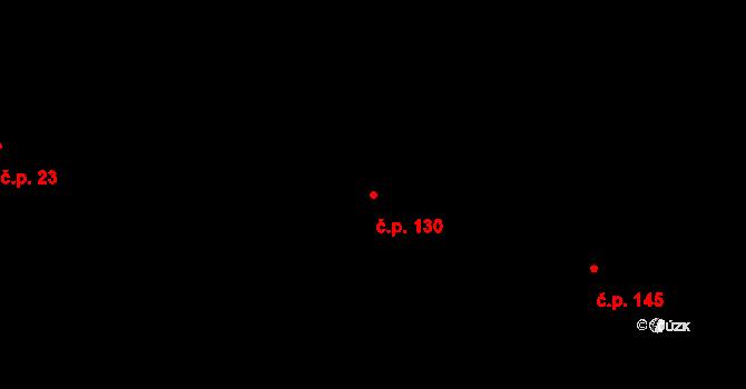 Stará Lípa 130, Česká Lípa na parcele st. 167/11 v KÚ Stará Lípa, Katastrální mapa