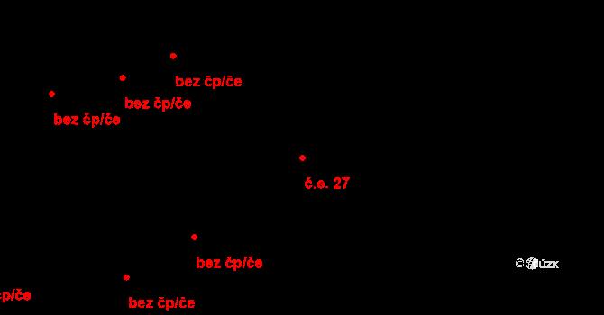 Liberec XVIII-Karlinky 27, Liberec na parcele st. 207/8 v KÚ Karlinky, Katastrální mapa