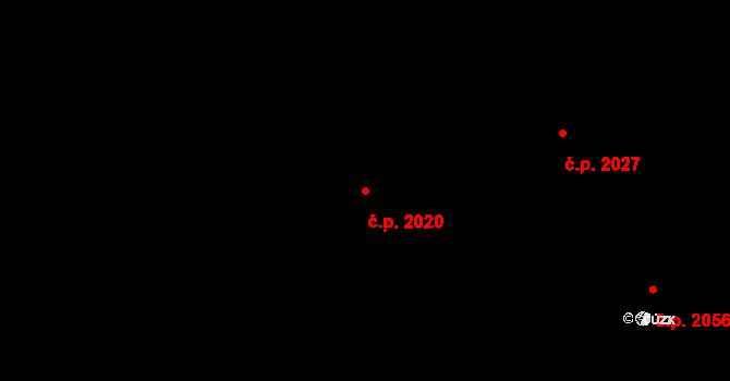 České Budějovice 7 2020, České Budějovice na parcele st. 3340/71 v KÚ České Budějovice 7, Katastrální mapa