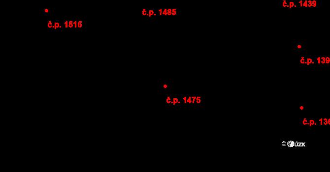 Kylešovice 1475, Opava na parcele st. 2724/162 v KÚ Kylešovice, Katastrální mapa