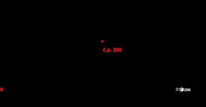 Zličín 260, Praha na parcele st. 493 v KÚ Zličín, Katastrální mapa