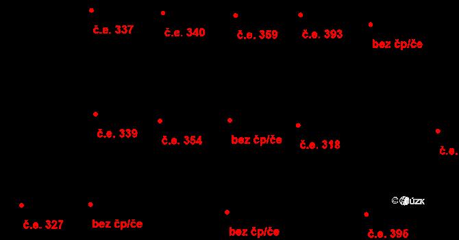 Praha 46822844 na parcele st. 1343/25 v KÚ Hloubětín, Katastrální mapa