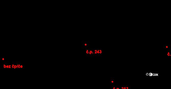 Olšová Vrata 243, Karlovy Vary na parcele st. 137/24 v KÚ Olšová Vrata, Katastrální mapa