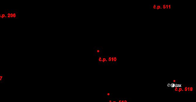 Lískovec 510, Frýdek-Místek na parcele st. 4455/49 v KÚ Lískovec u Frýdku-Místku, Katastrální mapa
