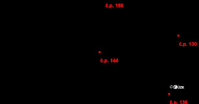 Vyskytná nad Jihlavou 144 na parcele st. 239 v KÚ Vyskytná nad Jihlavou, Katastrální mapa