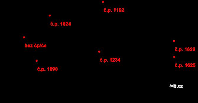 Slezská Ostrava 1234, Ostrava na parcele st. 2875/2 v KÚ Slezská Ostrava, Katastrální mapa