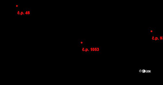 Holešovice 1053, Praha na parcele st. 730 v KÚ Holešovice, Katastrální mapa