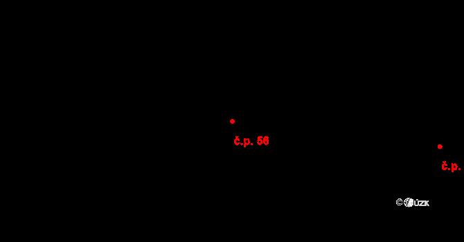 Štědrákova Lhota 56, Ruda nad Moravou na parcele st. 40 v KÚ Štědrákova Lhota, Katastrální mapa