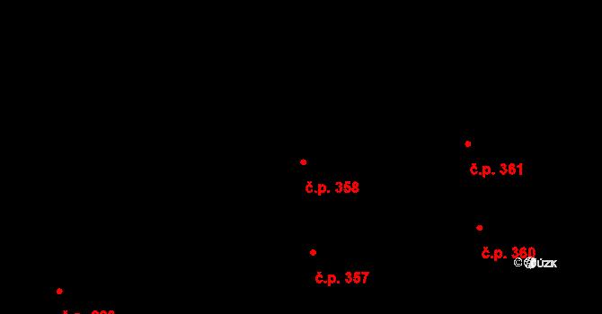 Valcha 358, Plzeň, Katastrální mapa