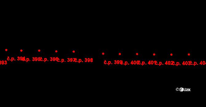Lelekovice 399 na parcele st. 448/46 v KÚ Lelekovice, Katastrální mapa