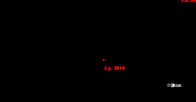 Ústí nad Labem-centrum 3614, Ústí nad Labem, Katastrální mapa