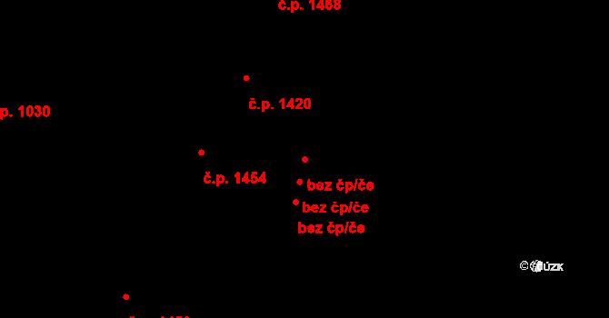 Praha 42848873 na parcele st. 614/4 v KÚ Holešovice, Katastrální mapa