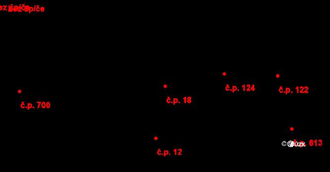 Vinohrady 18, Praha na parcele st. 237 v KÚ Vinohrady, Katastrální mapa