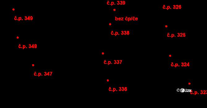 Valcha 337, Plzeň, Katastrální mapa