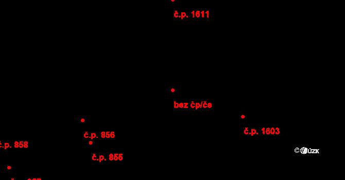 Kladno 94790884 na parcele st. 1166 v KÚ Hnidousy, Katastrální mapa