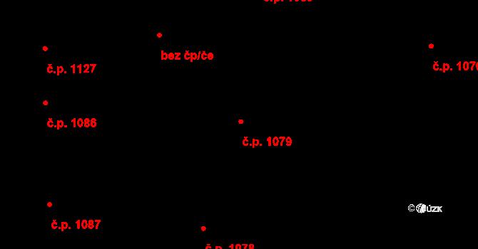Nivnice 1079 na parcele st. 1981/52 v KÚ Nivnice, Katastrální mapa