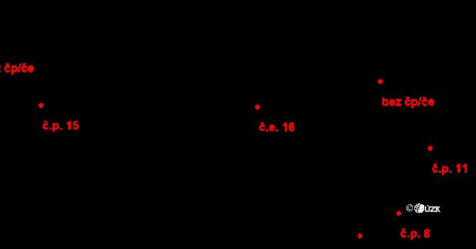 Předboř 16, Luka nad Jihlavou na parcele st. 18 v KÚ Předboř nad Jihlavou, Katastrální mapa
