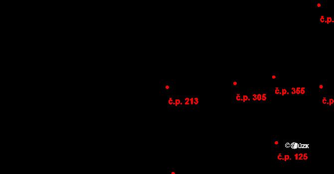 Braník 213, Praha na parcele st. 17 v KÚ Braník, Katastrální mapa