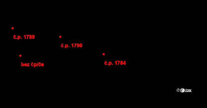 Petřvald 1784 na parcele st. 457/71 v KÚ Petřvald u Karviné, Katastrální mapa