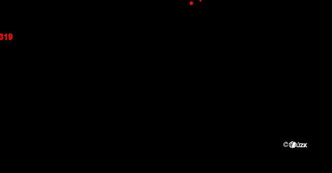 Nová Říše 39705901 na parcele st. 46/3 v KÚ Nová Říše, Katastrální mapa