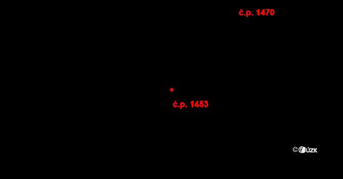 Zbraslav 1453, Praha na parcele st. 2874/127 v KÚ Zbraslav, Katastrální mapa