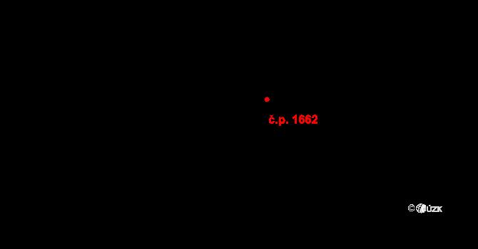 Krč 1662, Praha na parcele st. 2358/3 v KÚ Krč, Katastrální mapa