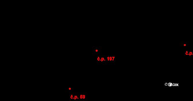Velíková 197, Zlín na parcele st. 317/2 v KÚ Velíková, Katastrální mapa