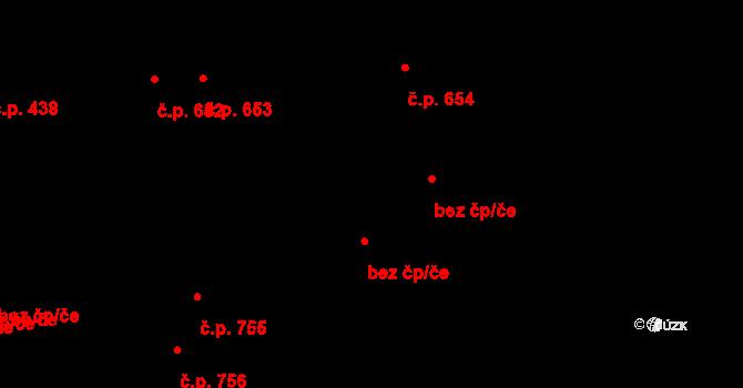 Pardubice 47775939 na parcele st. 1452 v KÚ Svítkov, Katastrální mapa