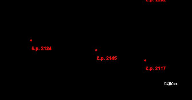 Velké Meziříčí 2145 na parcele st. 3627/78 v KÚ Velké Meziříčí, Katastrální mapa