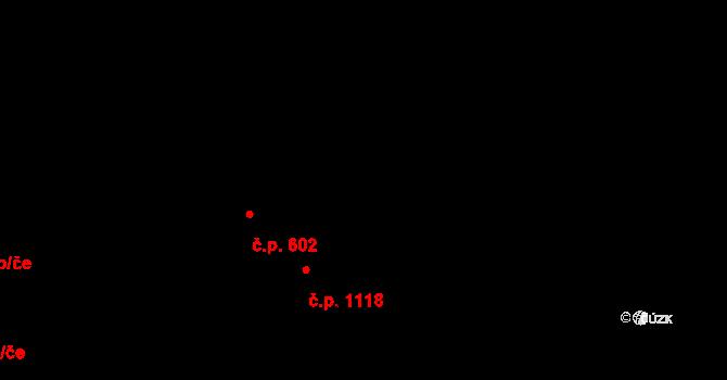 Praha 40381943 na parcele st. 1676 v KÚ Chodov, Katastrální mapa