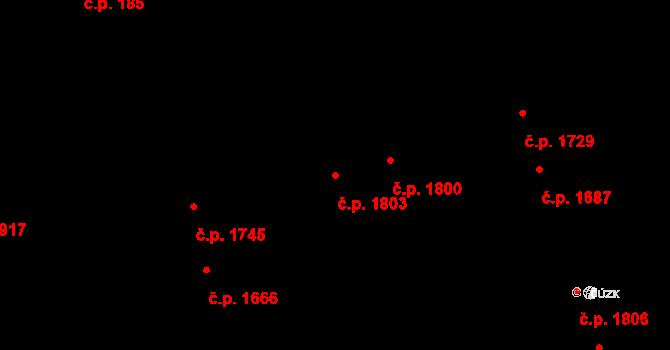 Královo Pole 1803, Brno na parcele st. 3240 v KÚ Královo Pole, Katastrální mapa