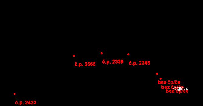 Smíchov 2339, Praha na parcele st. 4178 v KÚ Smíchov, Katastrální mapa