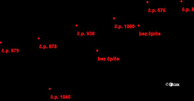 Zlín 41168950 na parcele st. 1286 v KÚ Malenovice u Zlína, Katastrální mapa