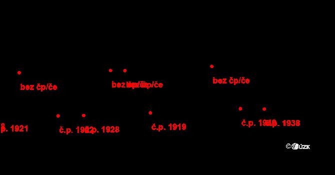 Líšeň 2027, Brno na parcele st. 1129/18 v KÚ Líšeň, Katastrální mapa