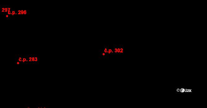Nová Role 302 na parcele st. 1274 v KÚ Nová Role, Katastrální mapa