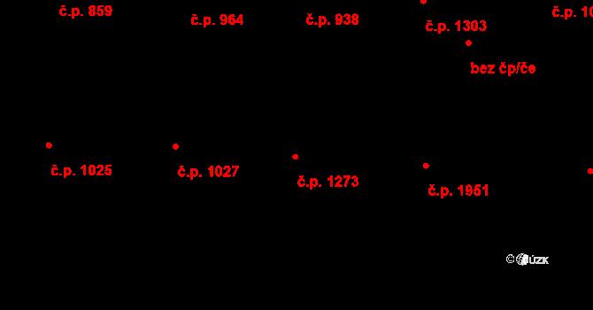 Havlíčkův Brod 1273 na parcele st. 3971 v KÚ Havlíčkův Brod, Katastrální mapa