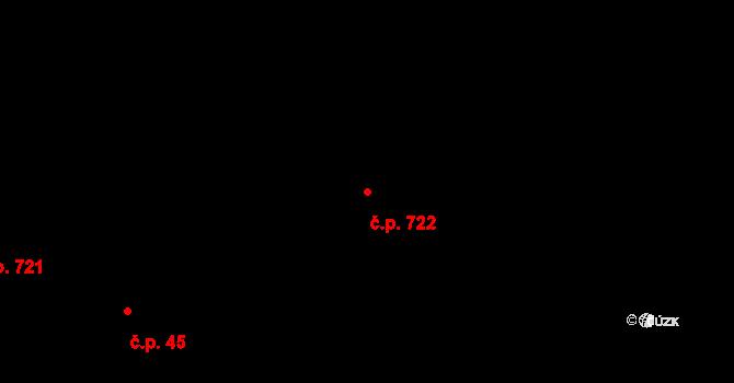 Horní Těrlicko 722, Těrlicko na parcele st. 2983/2 v KÚ Horní Těrlicko, Katastrální mapa