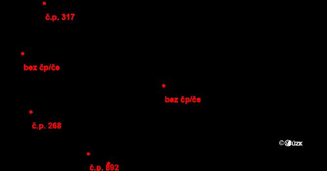 Miroslav 41930967 na parcele st. 934/6 v KÚ Miroslav, Katastrální mapa
