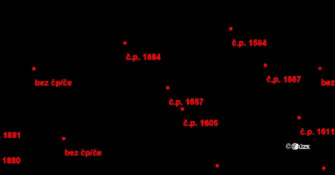 Kročehlavy 1657, Kladno na parcele st. 4773 v KÚ Kročehlavy, Katastrální mapa