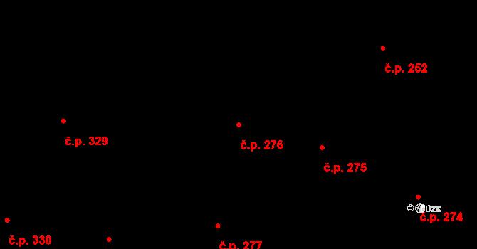 Staré Město 276, Praha na parcele st. 241 v KÚ Staré Město, Katastrální mapa