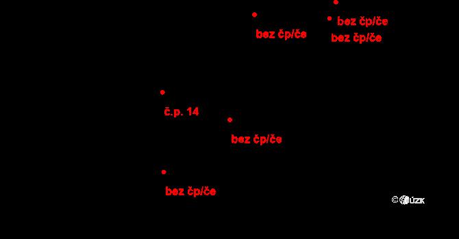 Horní Lideč 95551972 na parcele st. 101/3 v KÚ Horní Lideč, Katastrální mapa