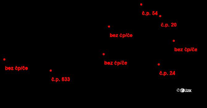 Slavonice 48865982 na parcele st. 1004 v KÚ Slavonice, Katastrální mapa