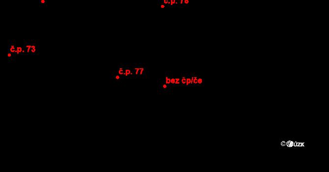 Sedlejov 42050987 na parcele st. 134 v KÚ Sedlejov, Katastrální mapa