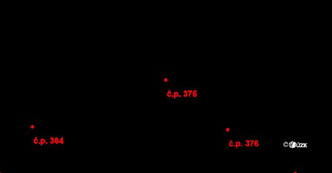 Vážany 375, Kroměříž na parcele st. 693/180 v KÚ Vážany u Kroměříže, Katastrální mapa