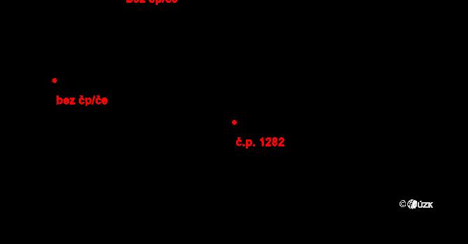 Kateřinky 1282, Opava na parcele st. 1723 v KÚ Kateřinky u Opavy, Katastrální mapa