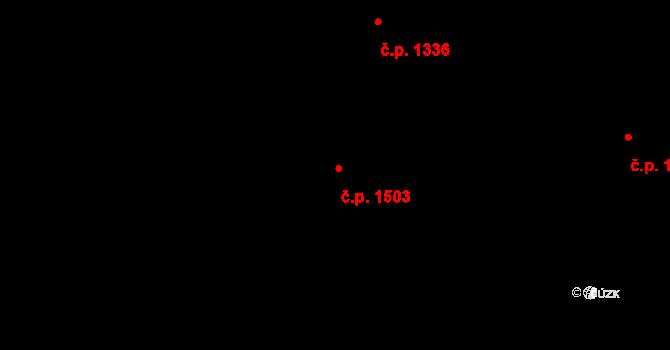 Neratovice 1503 na parcele st. 3007 v KÚ Neratovice, Katastrální mapa
