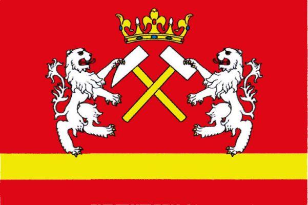 Abertamy - vlajka